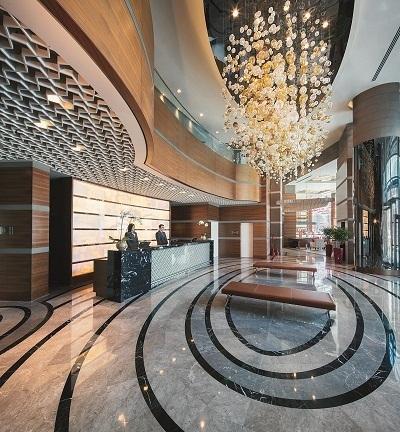 Le lobby de l'hôtel Mövenpick d'Ankara, en Turquie - Photo DR