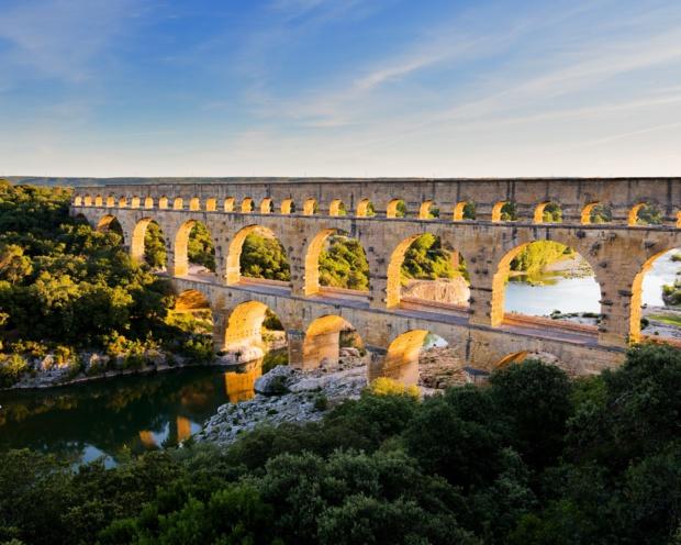 Le Pont du Gard, 2 000 ans d'histoire,  le monument antique le plus visité de France. Aurélio Rodriguez. CRT Occitanie.