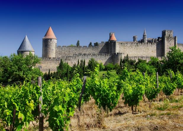 La cité médiévale de Carcssonne. G.Deschamps. CRT Occitanie.