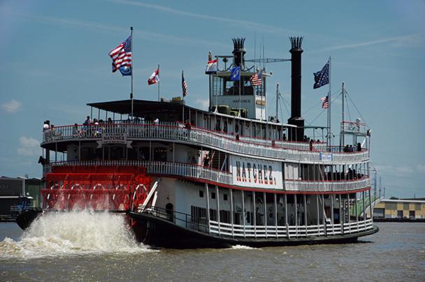 Au 2e jour du programme New-Orleans - Miami, une croisière à bord du steamboat Natchez est programmée - DR