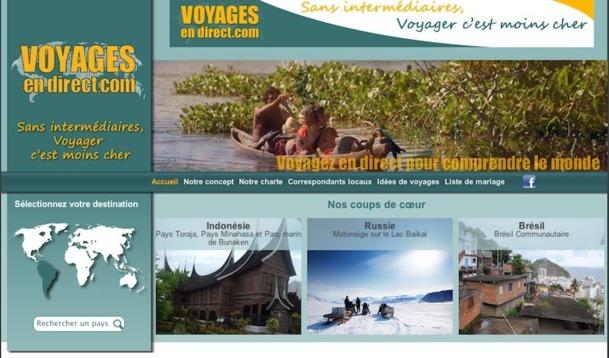 Voyages-en-direct.com : un nouveau site qui ''zappe'' les TO et met en relation clients et réceptifs