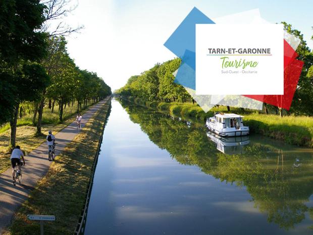 ADT-82 Vélo voie Verte du Canal des 2 mers