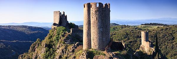 Les châteaux de Lastours / DR Vincent photographie