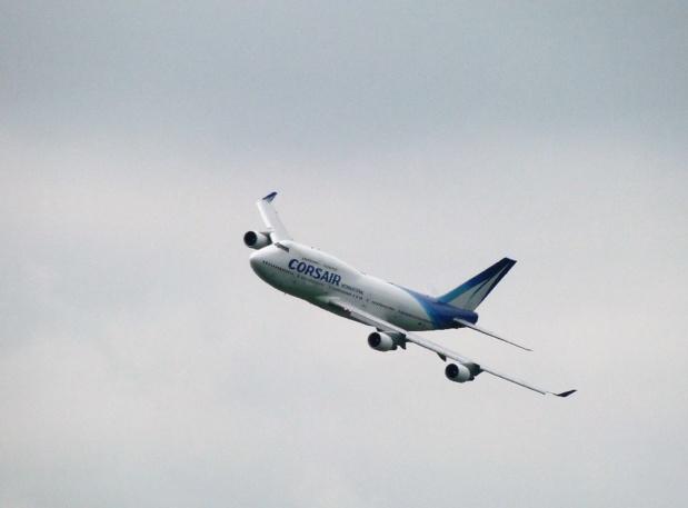 Corsair: le dernier des Boeing 747 français tire sa révérence