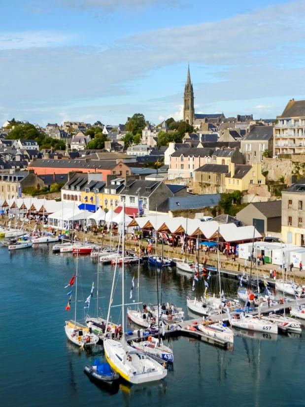 Port Rhu et Port Musée Douarnenez. Donatienne Guillaudeau. CRT Bretagne.