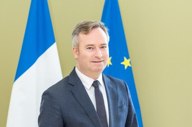 """Jean-Baptiste Lemoyne : """"A côté du moteur domestique on sent également qu'il y aura un moteur européen de proximité"""" - Crédit Photo Diplomatie.gouv"""