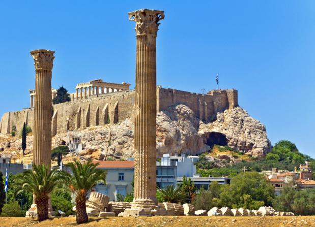 Avec un peu de bol vous aurez le privilège d'admirer pendant 24h l'Acropole ou... d'en détailler l'ensemble  pendant 14 jours si votre test est positif... /crédit DepositPhoto