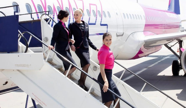 12 nouvelles routes seront ouvertes, dont une entre Bruxelles Charleroi et Bacău.  - DR Wizz Air