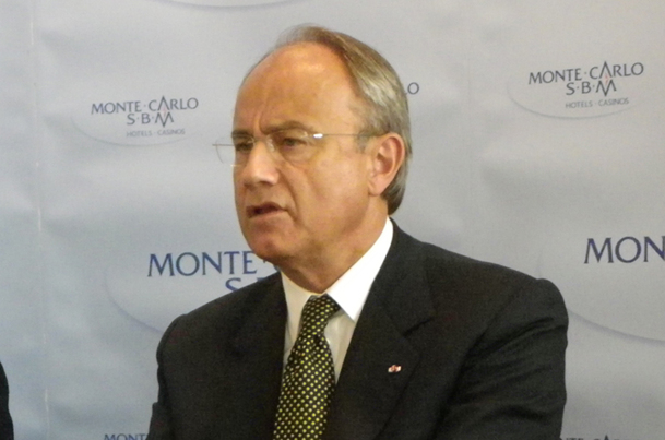 Jean-Luc Biamonti, président de la SBM, ne cache pas ses inquiétudes face à une conjoncture difficile - DR