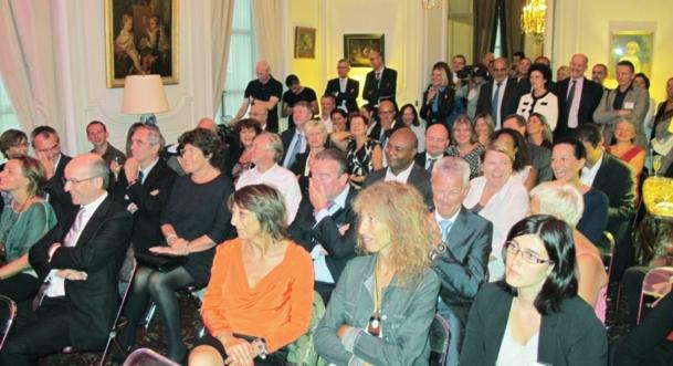 Ambassade de Belgique : EuRam et Sirius rendent hommage à Jacques Brel