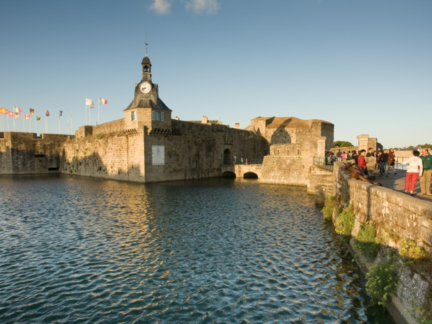 La ville close de Concarneau. Emmanuel Berthier. CRT Bretagne.