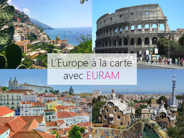 Destinations européennes - Photos : Audrey Labarthe et Pixabay