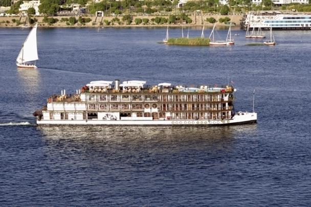 Le nouveau bateau à vapeur Misr vient compléter la flotte de Mövenpick sur le Nil. DR