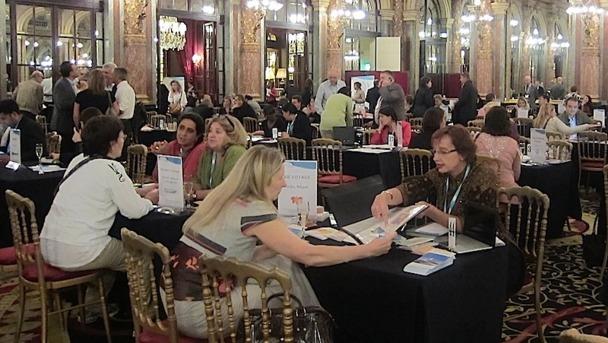 Plus d'une centaines d'agences réceptives et près de 76 fournisseurs se sont retrouvés pour le workshop annuel de TourCom Réceptifs, à l'hôtel Intercontinental de Paris Opéra. DR