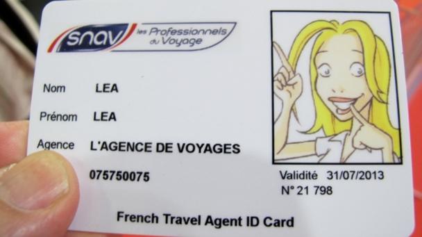 Alors, c'est qui qui a sa carte ? Et vous, êtes-vous allées chercher la votre au stand du Snav comme l'ont fait une cinquantaine d''AGV ce lundi ?