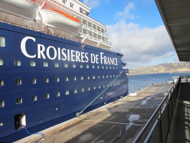 Après avoir inauguré l'Horizon en avril 2012, Croisières de France va lancer un nouveau navire en juin 2014 - Photo P.C