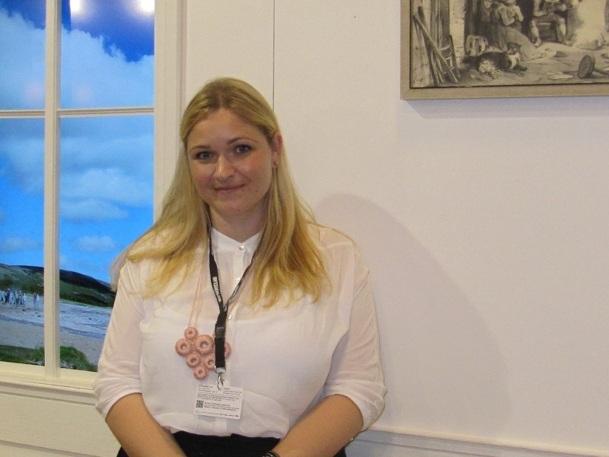 Pour Margrét Helga Jòhannsdòttir et l'Office de Tourisme islandais, l'éruption du volcan a finalement été bénéfique pour le tourisme sur le pays - Photo P.C