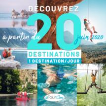 TourCom met à l'honneur 20 destinations sur 20 jours