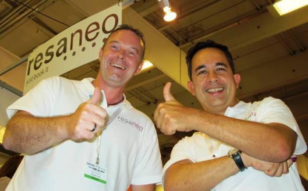 Le duo Yannick Faucon (ex-Ailleurs) et Jean-Pol Leclerc (ex-Go voyages)  gérera le développement de cette nouvelle entreprise / Photo JdL