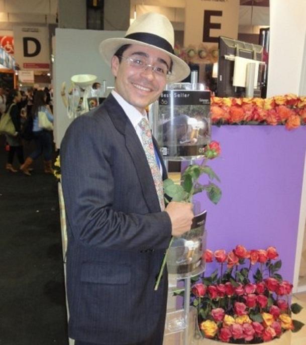 Roberto Hidalgo, assesseur du ministre du Tourisme en Equateur - Photo A.P