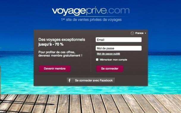 Voyage-privé affiche une marge de 42% pour un résultat net d'exploitation de 12,673 M€ et un CA de 29,6 M€ / Capture écran
