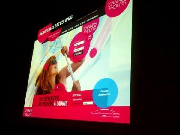 Le Palais des Festivals de Cannes dévoile sa nouvelle stratégie online - Photo M.B