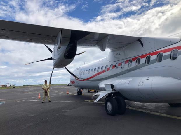 Air Tahiti assurait la liaison de 47 îles réparties sur les 5 archipels ainsi que les îles Cook une fois par semaine, avant le confinement.../crédit JDL