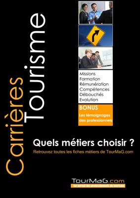 L'Ebook Carrières Tourisme rassemble plus d'une quarantaine de fiches métiers  / Photo DR