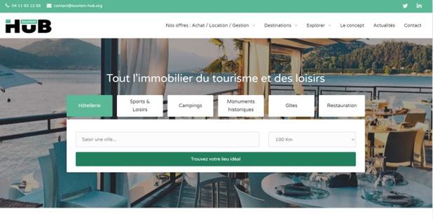 La plateforme recense l'ensemble des offres de création ou de reprise dans le domaine du tourisme et des loisirs à destination des professionnels du tourisme - DR : Tourism-Hub