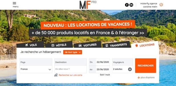 """Misterfly ajoute 50 000 """"locations France"""" à son catalogue BtoB - DR"""