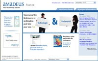 Amadeus France : le site institutionnel fait peau neuve