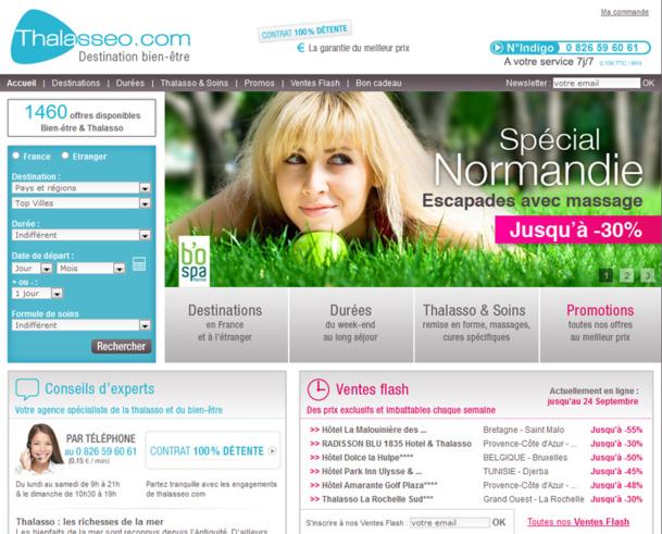 L'année 2012 devrait se clore sur une progression de 15 à 20% du CA et passer le cap des 100 000 clients. /photo Capture d'écran