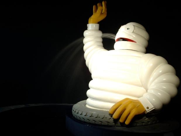 Bibendum, élu meilleur logo du monde par le Financial Times en l'an 2000 - DR : L'Aventure Michelin.