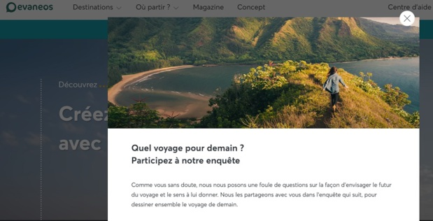 9 740 voyageurs ont répondu aux questions et la tendance est à plus d'écologie, de local et d'authenticité selon Evaneos - Crédit photo : Evaneos
