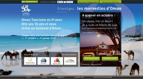 Pour fêter ses 10 ans, l'Office de Tourisme du Sultanat d'Oman lance une campagne de communication multicanal - DR