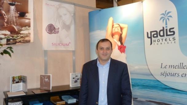 Karim Kamoun coordinateur  en stratétie et développement du groupe hôtelier tunisien Yadis - Photo M.S