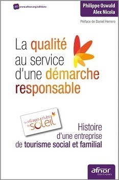 Parmi les auteurs de l'ouvrage, Alex Nicola, président du directoire des Villages Clubs du Soleil - DR