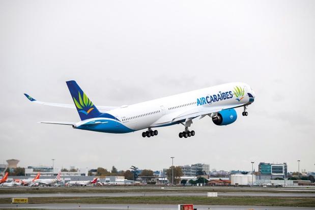 Le Groupe Dubreuil a confirmé sa commande de 5 A350 qui seront livrés d'ici 2022 - Photo Air Caraïbes