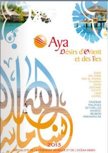 Aya Désirs d'Orient et des îles : Zanzibar parmi les nouveautés de la brochure 2013
