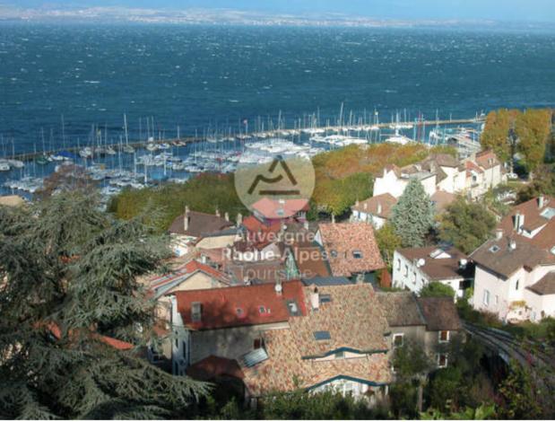 Le Lac Léman depuis Thonon-les-Bains - DR : OT Thonon-les-Bains