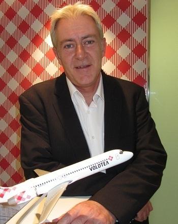 Didier Legault Fraslin est le nouveau Directeur commercial France de Volotea - Photo DR