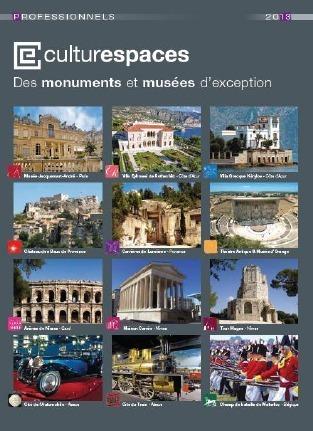 Le catalogue 2013 de Culturespaces recense l'offre de 13 sites gérés par la société - DR
