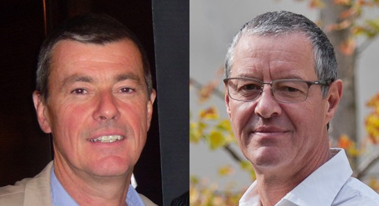 Didier Rabaux et Philippe Marquenet /photo DR