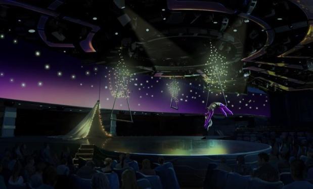 Plusieurs groupes sont intéressés par la reprise du Cirque du Soleil dont ses propres actionnaires - Crédit photo : MSC Croisières