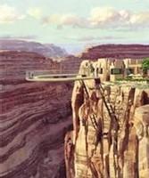 Un pont en verre pour survoler le Grand Canyon