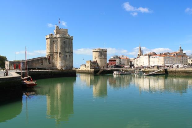 La Rochelle, une des attractions majeures de la Charente Maritime /crédit DepositPhoto