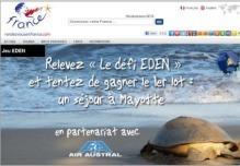 Les participants au défi doivent visiter 3 des 16 destinations EDEN françaises en un an - DR