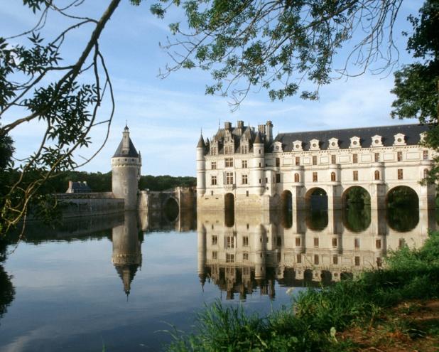 Le château de Chenonceau, le monument historique privé le plus visité de France, dans le top 10 des châteaux d'Europe - DR : Henneghien