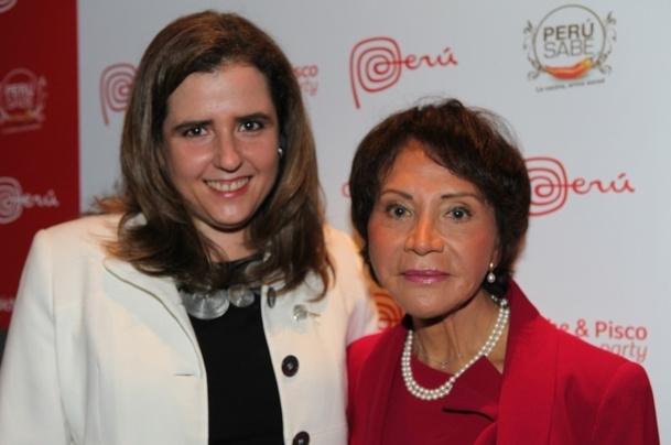 Mariella Soldi, directrice de la Marca Perú et l'ambassadrice du Pérou Cristina Velita de Laboureix ont présenté la nouvelle campagne de communication de la destination - DR : L-A.C.