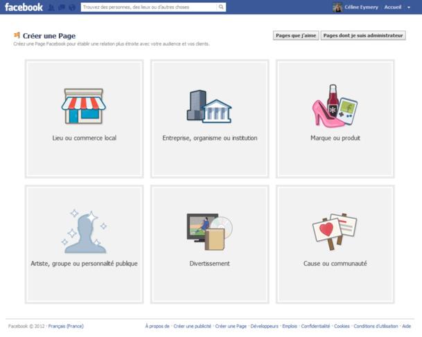 Facebook interdit de promouvoir une activité commerciale sur un profil perso. Il faut donc créer une page Pro entreprise. (Pour agrandir l'image cliquez dessus)